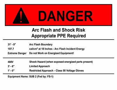 Danger Label